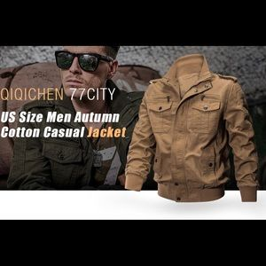 77 City Jackets & Coats - 77 City Cargo Versatile Multi Pocketed Jacket XL